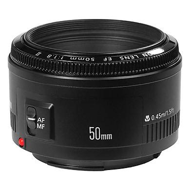 Ống Kính Yongnuo 50mm F1.8 Cho Nikon - Tặng Kèm Loa Che Nắng HB-47 - Hàng Nhập Khẩu
