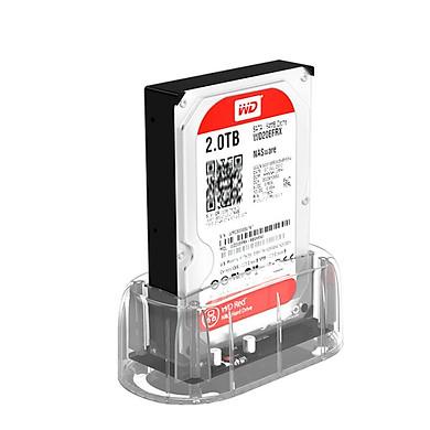 Hộp Đựng Ổ Cứng SSD ORICO 7688C3 3.5-inch Type-C SATA Hàng Chính Hãng