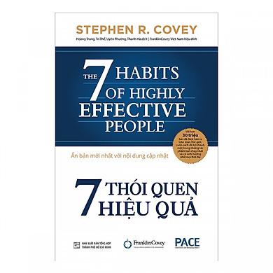 7 Thói Quen Hiệu Quả ( Tái bản 2019) + tặng kèm 1 bọc sách ép plastic