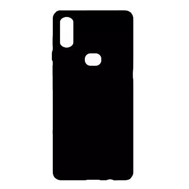Ốp lưng Samsung A10S silicone TPU dẻo đen chống bám vân tay - Hàng chính hãng