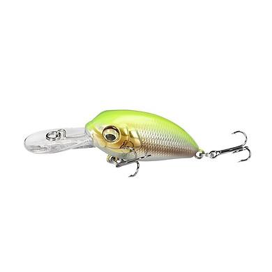 Mồi cá giả crankbait E39 cao cấp dài 4.5g x 39mm nhiều màu, mồi lure dạng lửng câu rô phi cá tráp cá chẽm cá chuối hiệu quả