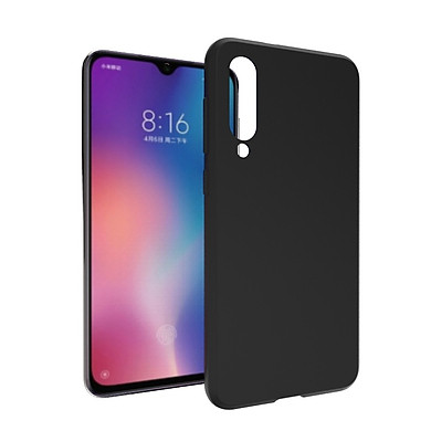 Ốp lưng silicon màu đen dành cho Xiaomi Mi 9 SE siêu mỏng