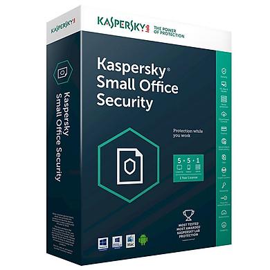 Kaspersky Small Office Security (1server + 5PC) - KSOS 5 - Hàng chính hãng