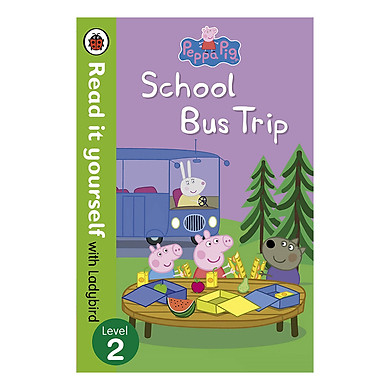 Peppa Pig: School Bus Trip - Read it yourself with Ladybird: Level 2 - Read It Yourself (Paperback)