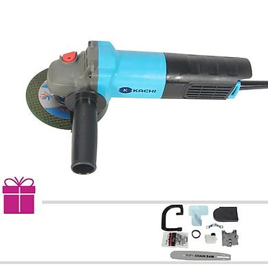 Bộ máy mài, cắt cầm tay đa năng Kachi MK190 + Tặng kèm lưỡi cưa xích (Kèm bộ phụ kiện) – Hàng chính hãng