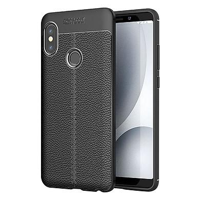 Ốp Lưng Dẻo Vân Da Auto Focus Dành Cho Xiaomi Redmi Note 5, Redmi Note 5 Pro - Hàng chính hãng