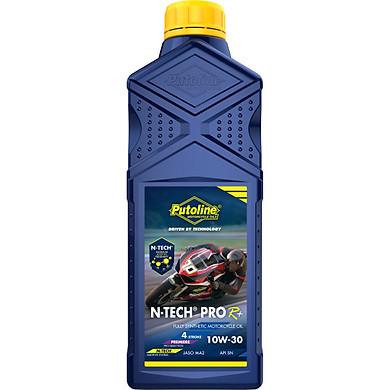 Dầu nhớt Putoline N-Tech Pro R+ 10W 30 (xe số, xe côn tay )