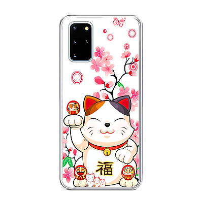 Ốp Lưng Điện Thoại Samsung Galaxy S20 Plus- 01281 0442 MEOMAYMAN07 - Hàng Chính Hãng