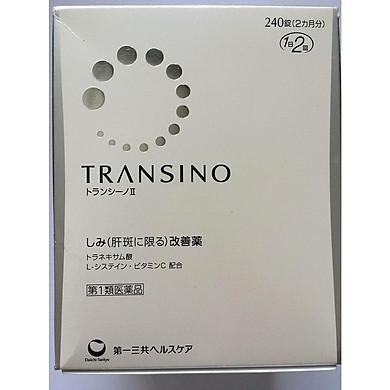 Thực phẩm chức năng Viên uống hỗ trợ điều trị nám tàn nhang Transino Whitening 240 viên Nhật Bản