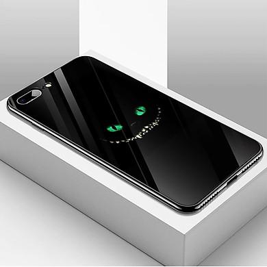 Ốp kính cường lực cho điện thoại iPhone 7 Plus / 8 Plus - haloween kinh sợ MS HLGKS048