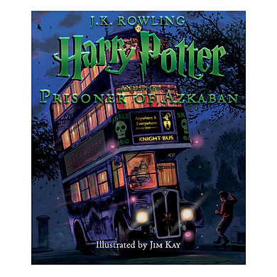 Harry Potter and the Prisoner of Azkaban Illustrated Edition (Book 3) (English Book)