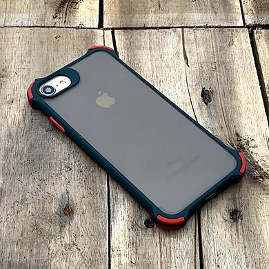 Ốp lưng chống sốc toàn phần dành cho iPhone 7 / 8 / SE 2020 - Màu xanh lá cây đậm