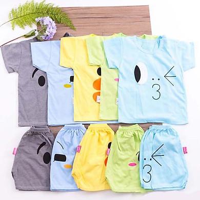 Combo 5 bộ quần áo cộc tay dành cho trẻ em ( giao màu ngẫu nhiên)