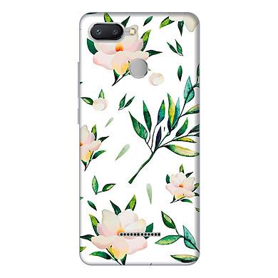 Ốp lưng điện thoại Xiaomi Redmi 6 hình Hoa Xanh