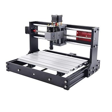 Máy Cắt, Khắc CNC 3018 Pro New + 10 mũi phay PCB + ER11 + 4 kẹp phôi + đĩa chương trình + HD Chuyên Dụng