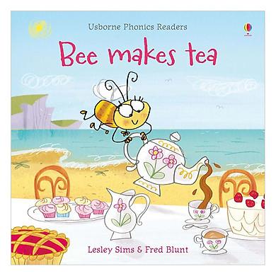Usborne Bee makes tea