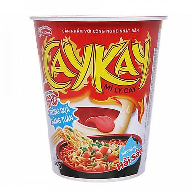 Thùng 24 Ly Mì Caykay Hải Sản Acecook (66g/Ly)