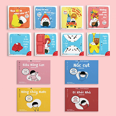 """Combo 2 bộ Ehon """"Giri - Chú bé cơm nắm và """"Taku - Cậu bé mộng mơ"""" - Ehon Nhật Bản cho bé 2-6 tuổi"""