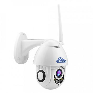 Camera IP Wifi chính hãng Vitacam DZ1080 S 2019 - Ngoài trời Speed Dome PTZ 2.0mpx Full HD 1080P