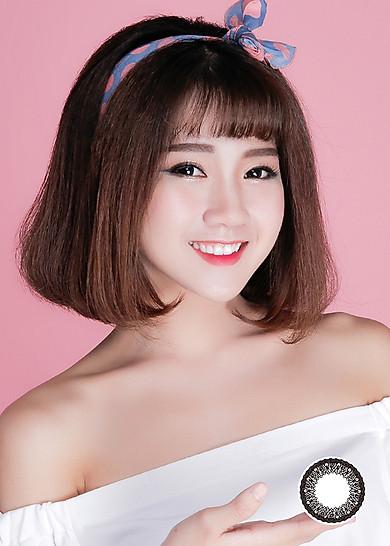 [Một miếng] Kính Áp Tròng Dùng 1 Tháng Eye Secret KM1T - Bangkok Black