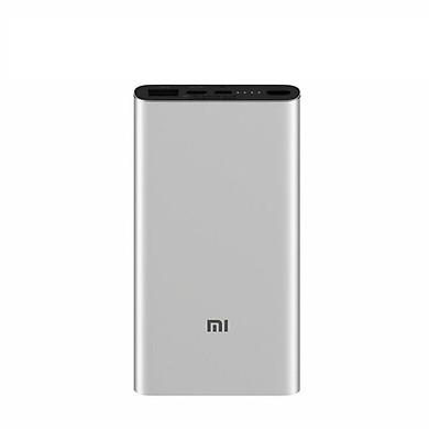 Pin sạc dự phòng Xiaomi 10000 mAh Gen 3 Pro 1 cổng USB 1 cổng USB-A 1 cổng USB-C hỗ trợ sạc nhanh 18W - Hàng Nhập Khẩu