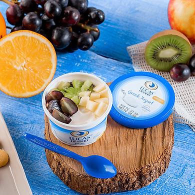 Sữa Chua Hy Lạp Lucas HCM - Sáng Mịn Làn Da Cân Bằng Vóc Dáng - Combo 10 Hộp Sữa Chua Hương Vị Truyền Thống - AD Giao Hàng