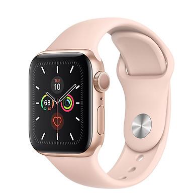 Đồng hồ Apple Watch Series 5 GPS Only, Aluminum - Sport Band - Hàng nhập khẩu