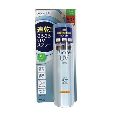 Xịt Chống Nắng Tiện Lợi - Biore UV Spray SPF50+ /PA++++