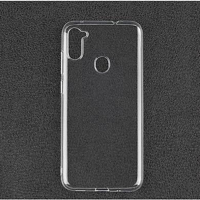 Ốp lưng silicon dẻo trong suốt loại A+ dành cho Samsung Galaxy A11