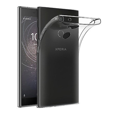 Ốp lưng silicon dẻo trong suốt loại A cao cấp cho Sony Xperia L2