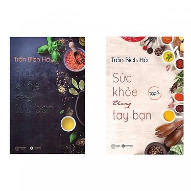 Combo 2 Cuốn Sách Chăm Sóc Sức Khỏe - Sức Khỏe Trong Tay Bạn (Trọn Bộ 2 Tập) - (Tặng Kèm Bookmark Thiết Kế)