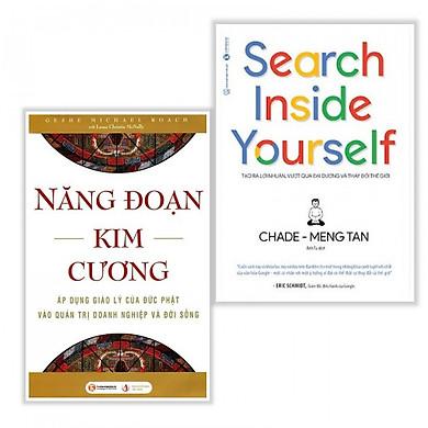 Combo Sách Kinh Tế - Kỹ Năng Làm Việc: Năng Đoạn Kim Cương (Tái Bản 2018) + Search Inside Yourself - Tạo Ra Lợi Nhuận Vượt Qua Đại Dương Và Thay Đổi Thế Giới (Bộ 2 cuốn - Tặng kèm bookmark PD)
