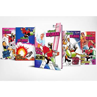 Boxset 6 : 5 tập Dũng Sĩ HesMan ( Từ tập 26 đến tập 30 )