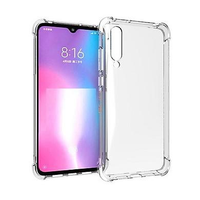 Ốp lưng Silicon dẻo trong, suốt chống sốc cho Xiaomi Mi CC9