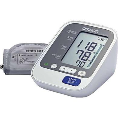 Máy đo huyết áp bắp tay OMRON công nghệ Intellisense mới tự động HEM-7130
