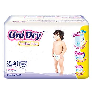 Tã Quần UniDry Premium XL48 (48 Miếng)