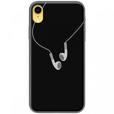 Ốp lưng dành cho iPhone XR Tai nghe