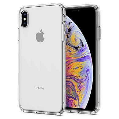 Ốp lưng chống sốc Spigen Liquid Crystal trong suốt cho iPhone XS Max | iPhone XS/X | iPhone XR - Hàng nhập khẩu