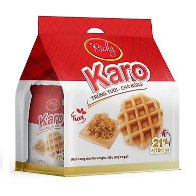 Bánh tươi Richy KARO bịch 6 chiếc (26g/chiếc)