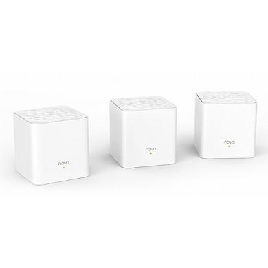 Bộ 3 Cái Phát Wifi Dạng Lưới Mesh Tenda Nova MW3 AC1200 - Hàng Chính Hãng