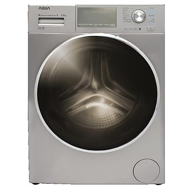 Máy giặt Aqua Inverter 8.5 Kg AQD-DD850E S - HÀNG CHÍNH HÃNG