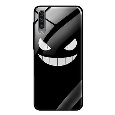 Ốp lưng điện thoại Samsung A50S - Mặt Kính Cường Lực - 0165 MONSTER01 - Hàng Chính Hãng