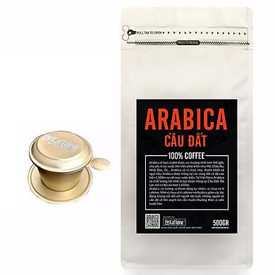 Cà phê Arabica Cầu Đất 500g - Tăng phin nhôm cao cấp 99k - The Kaffeine Coffee