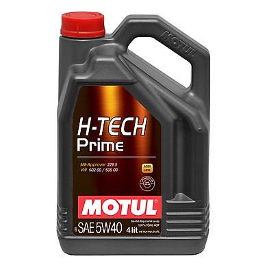 Nhớt Xe Hơi Tổng Hợp Motul H-Tech Prime 5w40 4x4l Vn (4L)