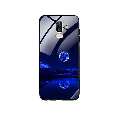 Ốp Lưng Kính Cường Lực cho điện thoại Samsung Galaxy J8 -  0269 MOON02