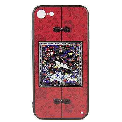 Ốp lưng iPhone 6/6S phim Diên Hi - Đỏ vuông - Hàng chính hãng