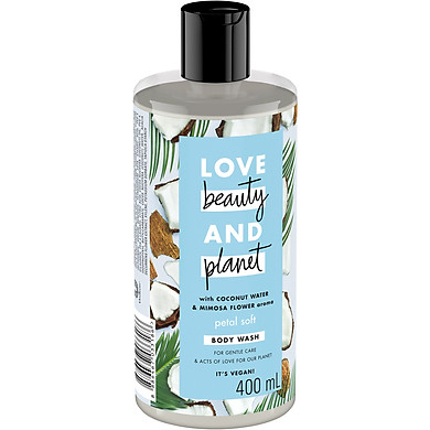 Sữa Tắm Dưỡng Ẩm Dịu Nhẹ Love Beauty And Planet Petal Soft 400ml