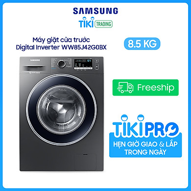 Máy Giặt Samsung Inverter 8.5 kg WW85J42G0BX/SV – Chỉ giao Hà Nội