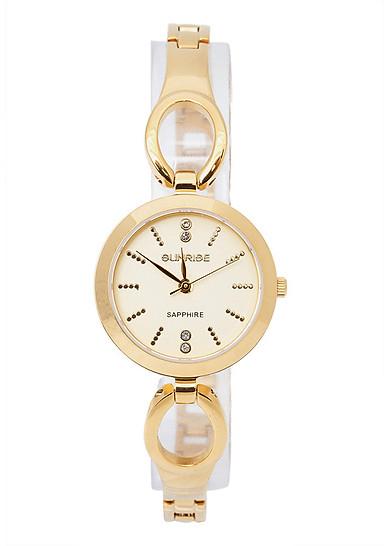 Đồng hồ Sunrise SL-718SWA nữ dây lắc vàng