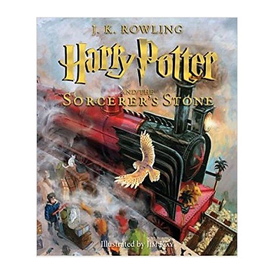 Harry Potter Part 1: Harry Potter And The Sorcerer's Stone (Illustrated Edition) (English Book)